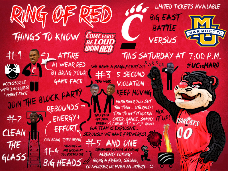 Array - cincinnati marketing releases ring of red fan guide the      rh   cincyontheprowl com